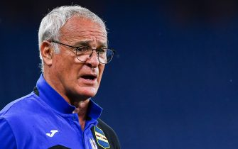 GENOA, ITALY - JULY 22: Claudio Ranieri, coach of Sampdoria before the Serie A match between UC Sampdoria and Genoa CFC at Stadio Luigi Ferraris on July 22, 2020 in Genoa, Italy. (Photo by Paolo Rattini/Getty Images)