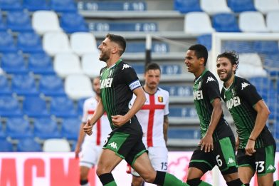 Sassuolo-Genoa 5-0: video, gol e highlights della partita di Serie A