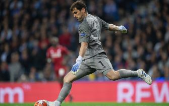 PORTO, PORTUGAL - APRIL 17: Goalkeeper Iker Casillas of Porto seen during the UEFA Champions League Quarter Final second leg match between Porto and Liverpool at Estadio do Dragao on April 17, 2019 in Porto, Portugal. (Photo by Matthias Hangst/Getty Images)