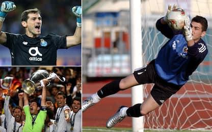 Casillas si ritira, una vita al Real e gli ultimi anni al Porto. FOTO