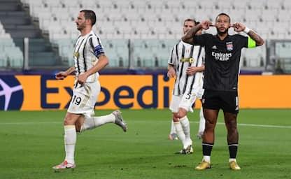 Ottavi di Champions League, Juventus-Lione 1-1. DIRETTA