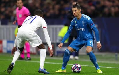 Juventus-Lione, i bianconeri si giocano i quarti di Champions League