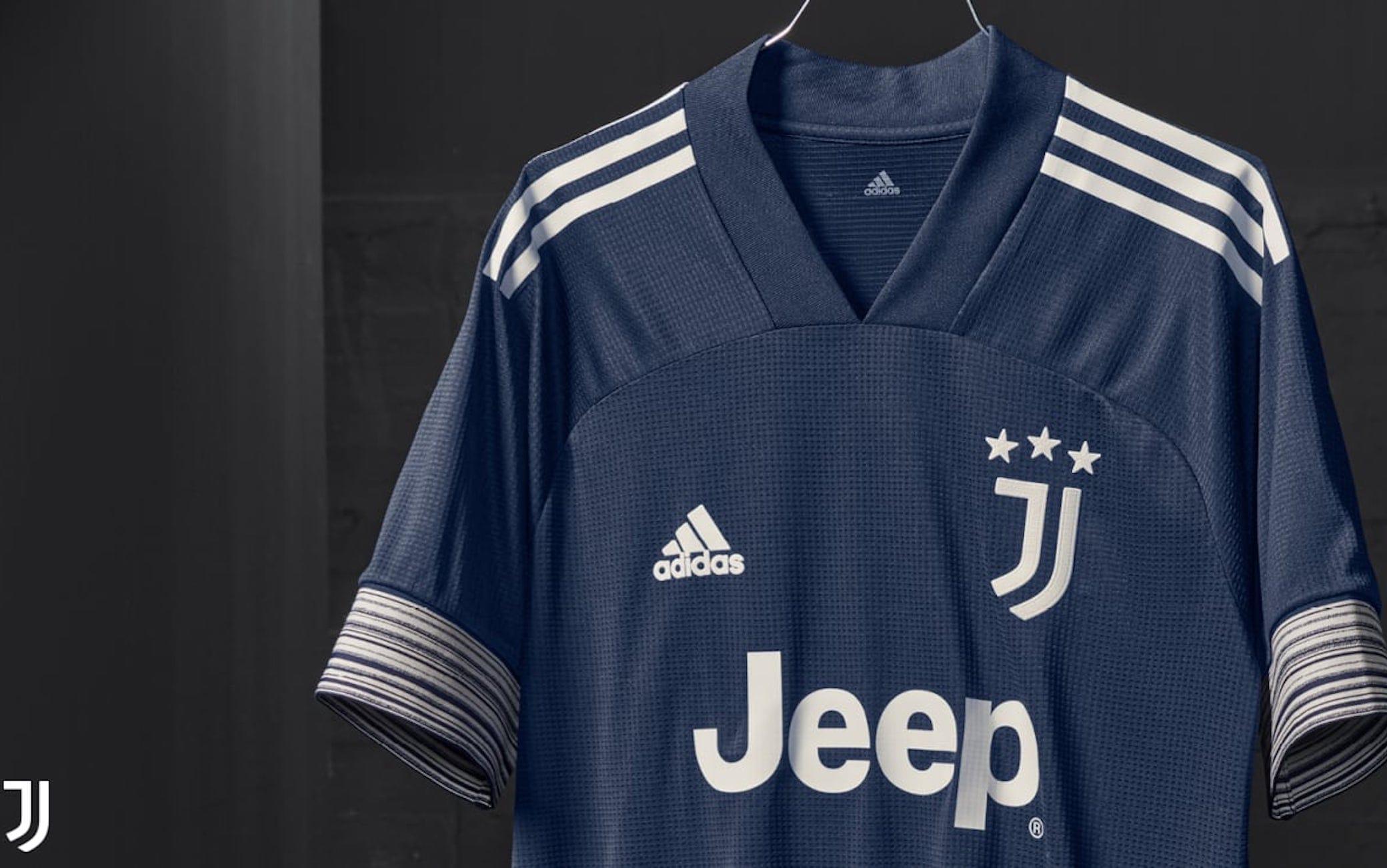 Juventus, presentata la seconda maglia della stagione 2020-21. FOTO