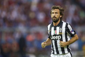 Andrea Pirlo of Juventus FC during the UEFA Champions League  final match between Barcelona and Juventus on June 6, 2015 at the Olympic stadium in Berlin, Germany.(Photo by VI Images via Getty Images)