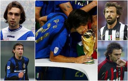 Andrea Pirlo alla Juve, la carriera del nuovo allenatore. FOTO