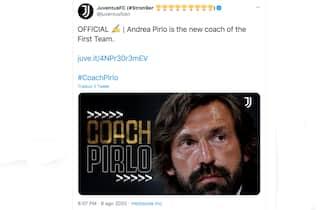 Gli auguri ad Andrea Pirlo