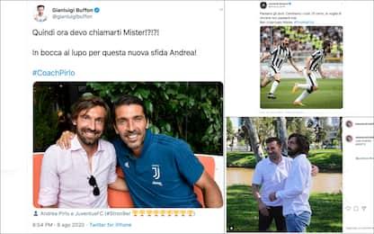 Andrea Pirlo allenatore della Juventus, gli auguri sui social. FOTO