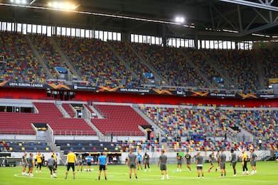 Inter, tutto pronto per i quarti contro il Bayer Leverkusen. FOTO