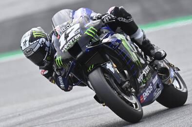 MotoGP Austria, Yamaha Vinales in pole, 12/o Rossi