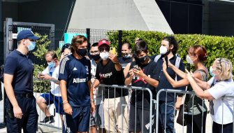 Juventus' new head coach Andrea Pirlo at J Medical for the first training day, Turin, 24 agosto 2020 ANSA/ALESSANDRO DI MARCO