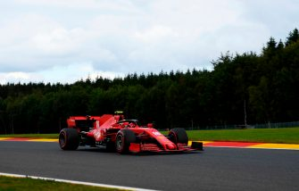 SPA, BELGIUM - AUGUST 29: Charles Leclerc of Monaco driving the (16) Scuderia Ferrari SF1000 on track during qualifying for the F1 Grand Prix of Belgium at Circuit de Spa-Francorchamps on August 29, 2020 in Spa, Belgium. (Photo by Rudy Carezzevoli/Getty Images)