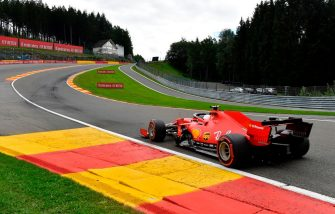 Ferrari's German driver Sebastian Vettel competes during the qualifying session at the Spa-Francorchamps circuit in Spa on August 29, 2020 ahead of the Belgian Formula One Grand Prix. (Photo by JOHN THYS / POOL / AFP) (Photo by JOHN THYS/POOL/AFP via Getty Images)