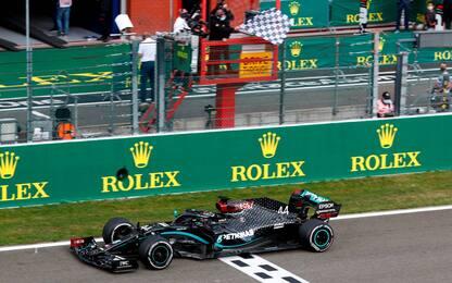 F1, Gp Belgio: Hamilton vince davanti a Bottas. Terzo Verstappen. FOTO