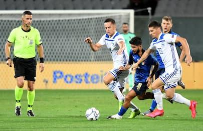Nations League, Italia-Bosnia finisce 1-1. FOTO