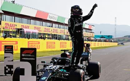 Formula 1, qualifiche del Gp di Toscana al Mugello: pole di Hamilton
