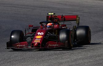 SCARPERIA, ITALY - SEPTEMBER 12: Charles Leclerc of Monaco driving the (16) Scuderia Ferrari SF1000 on track during qualifying for the F1 Grand Prix of Tuscany at Mugello Circuit on September 12, 2020 in Scarperia, Italy. (Photo by Miguel Medina - Pool/Getty Images)
