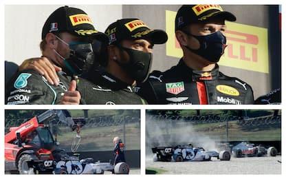 F1, Gp Toscana: vince Hamilton davanti a Bottas e Albon
