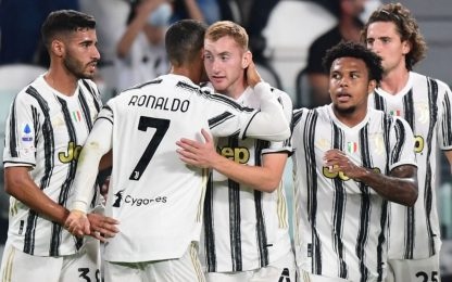 Juventus-Sampdoria 3-0: video, gol e highlights di Serie A