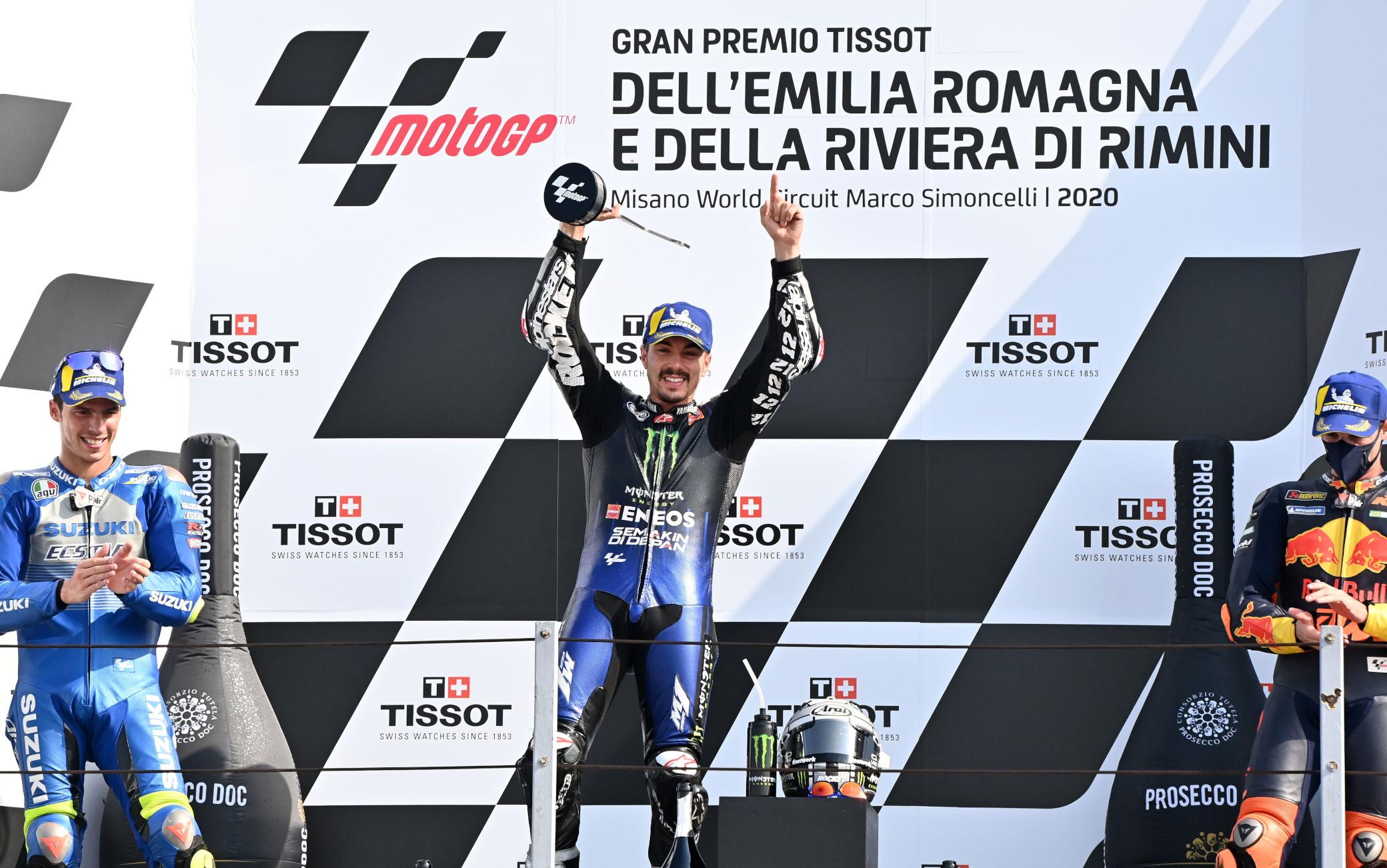 MotoGp, vince Vinales davanti a Mir e Quartararo