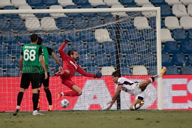 Sassuolo-Cagliari 1-1: video, gol e highlights di Serie A