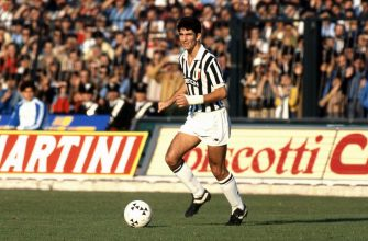 ITALY - UNSPECIFIED: Paolo Rossi of Juventus in action during the Serie A 1981-82, Italy. (Photo by Alessandro Sabattini/Getty Images)