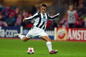 MUNICH, GERMANY - NOVEMBER 03: Fabio Cannavaro of Juventus in action during the UEFA Champions League Group C match between Bayern Munich and Juventus at the Olympiastadion on November 3, 2004 in Munich, Germany. (Photo by Etsuo Hara/Getty Images)