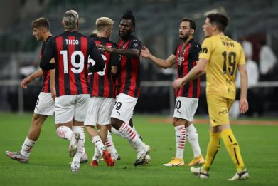 Milan avanti in Europa League, 3-2 al Bodo Glimt
