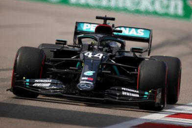 Formula 1, qualifiche Gp di Russia: Hamilton in pole, male le Ferrari