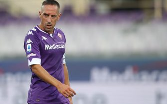 FLORENCE, ITALY - SEPTEMBER 19: Franck Ribery of ACF Fiorentina during the Serie A match between ACF Fiorentina and Torino FC at Stadio Artemio Franchi on September 19, 2020 in Florence, Italy. (Photo by Jonathan Moscrop/Getty Images)