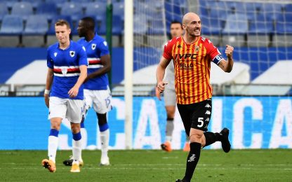 Serie A, Sampdoria-Benevento 2-3: video, gol, highlights della partita