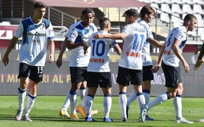 Torino-Atalanta 2-4: video, gol e highlights della partita di Serie A
