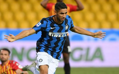 Covid, Inter: Hakimi è risultato positivo al tampone