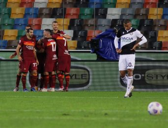 Terza giornata Serie A, Udinese-Roma 0-1: fotogallery della partita