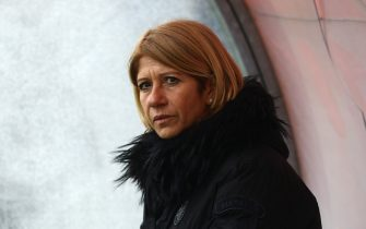 during the Women Serie A match between AC Milan and Hellas Verona on February 8, 2019 in Milan, Italy.