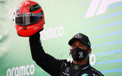 F1, Gp Eifel in Germania: vince Hamilton. Video highlights della gara