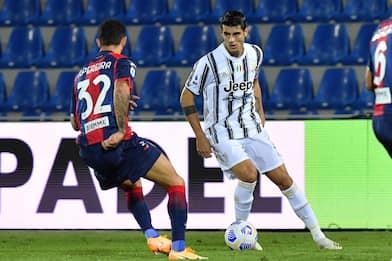 Serie A, Crotone-Juventus 1-1: in rete Simy e Morata. Espulso Chiesa