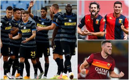 Maglie da calcio più belle 2020-21: ci sono Inter, Genoa e Roma. FOTO