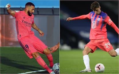 Maglie da calcio più brutte 2020-21: ci sono Chelsea e Real. FOTO