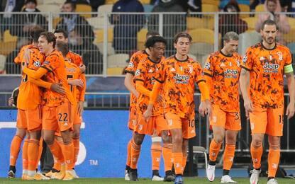 Champions League, Dinamo Kiev-Juventus 0-2 e Lazio-Dortmund 3-1