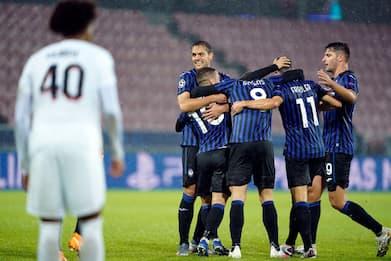 Champions, Inter-Borussia M. 1-0 e Midtjylland-Atalanta 0-3. DIRETTA