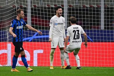 Champions, Inter-Borussia M. 1-1 e Midtjylland-Atalanta 0-3. DIRETTA