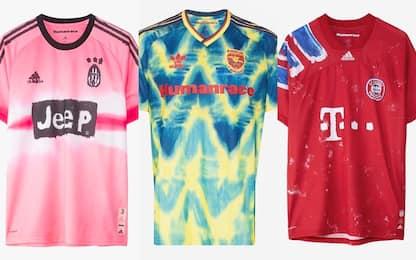 Calcio, le nuove maglie disegnate da Pharrell Williams per Adidas