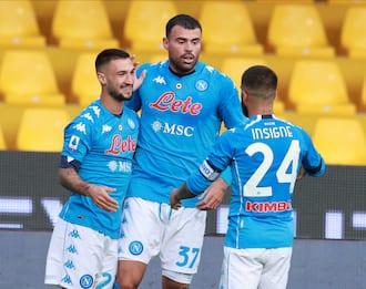 Serie A, Benevento-Napoli 1-2: la cronaca della partita