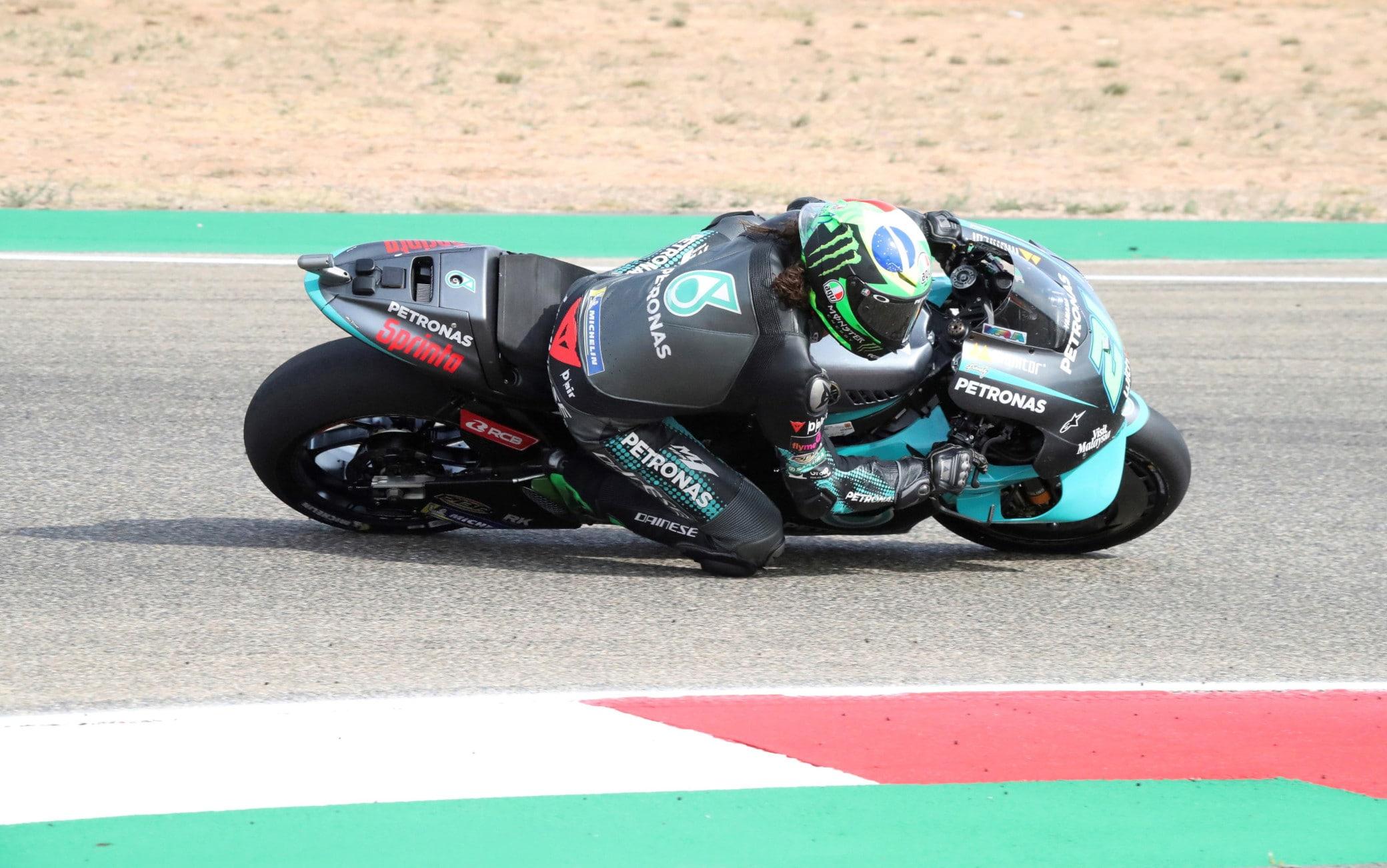 GP Teruel, delusione per Dovizioso: