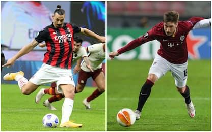 Milan-Sparta Praga 0-0: la diretta del match di Europa League