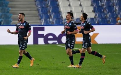 Real Sociedad-Napoli 0-1: video, gol e highlights di Europa League