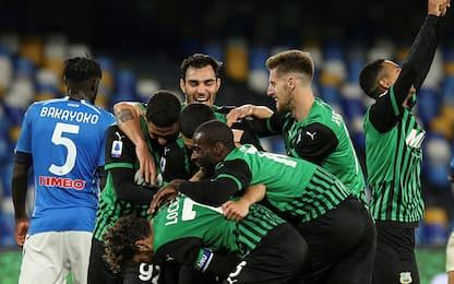 Napoli-Sassuolo 0-2: video, gol e highlights della partita di Serie A