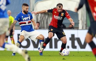 Sampdoria-Genoa 1-1: video, gol e highlights della partita di Serie A