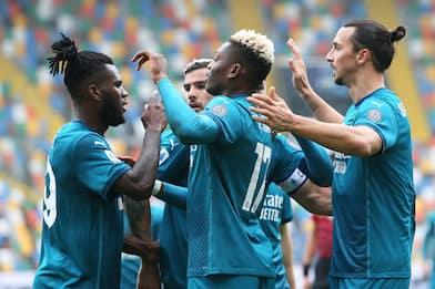 Udinese-Milan 1-2: i rossoneri restano primi in classifica