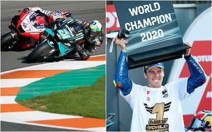 MotoGp, Morbidelli vince a Valencia. Mir campione del mondo HIGHLIGHTS